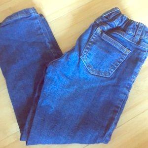 Carters inner-lined adjustable girls jeans